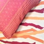 custom made rug & pillow
