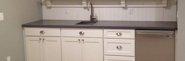 basement-door-1 Basement Renovation: Kitchen, Gym, Wine Cellar and a Barn Door